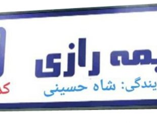 بیمه رازی نمایندگی شاه حسینی 210596