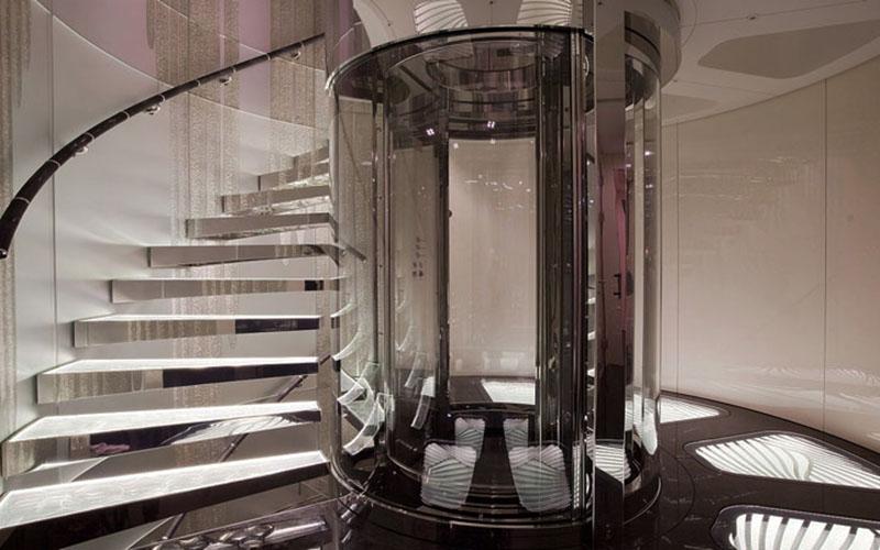 آسانسور جهان تسلا | ورناپ