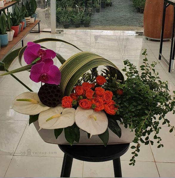 بهترین گل فروشی آنلاین اصفهان خیابان بزرگمهر